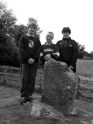 The Eagle Stone, Strathpeffer