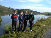 Pupils from Class 7, Fodderty Primary