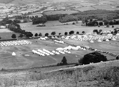 An Army camp, possibly 1939