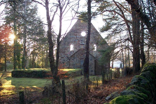 The former Free Church in Jamestown, Strathpeffer.