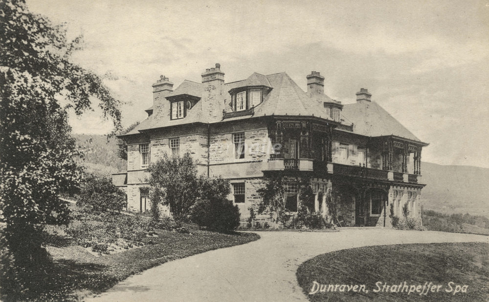 Dunraven, Golf Course Road, early 1900s.