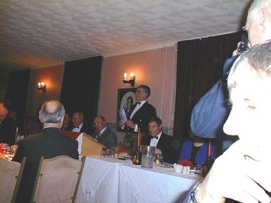 Addressing the haggis