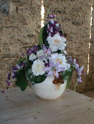Clachan Church floral display