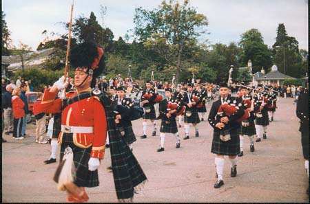 Strathpeffer and District Pipe Band