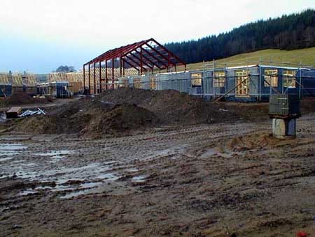 Photographs of our new school being built - pupil photo 1
