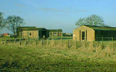Some of the wartime buildings that dot the Fendom  (Land and Marine)