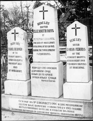 Grave of Dr Elizabeth Ross