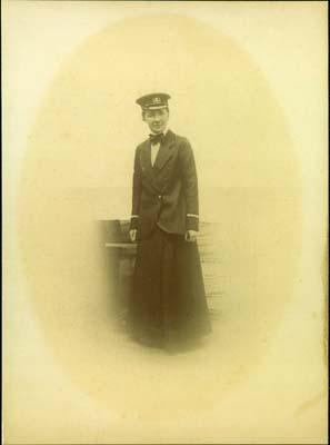Ship's Doctor E. N. MacBean Ross on board the Glenlogan (1913)