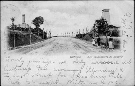 Postcard from Waterloo, to Mary, 1898