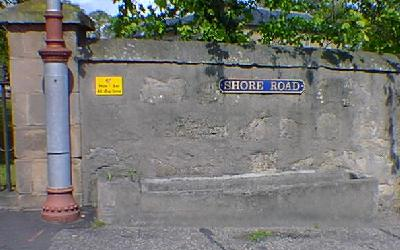 Horse trough Shore Road