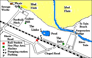 Layout of The Links.