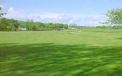 The Links, looking towards the football pitch end.