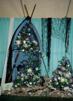 Fishing Display Dornoch Show Aug 1999