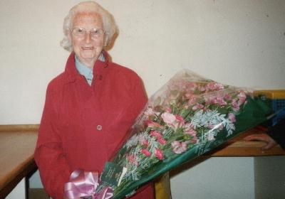 Founder Member, Isabel Hislop on her 90th Birthday