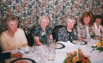 Top Table - 20th Anniversary Dinner - October, 1998