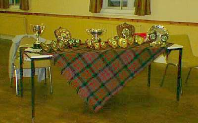 The Trophy Table - Prize Giving 2000