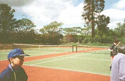All weather courts built 1996