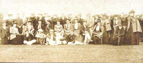 Tain Tennis Club members 1894