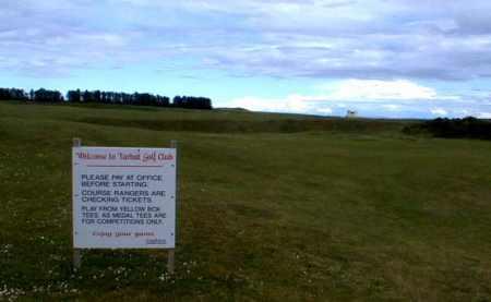 Part of Tarbat Golf Club course.