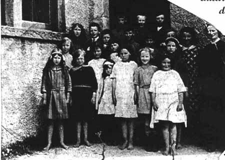 Torridon School in late 1920s.