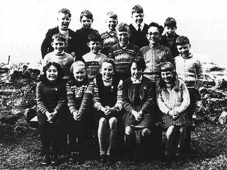 Torridon School late 1960s.