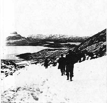 Winter Walk on the Banca Mor