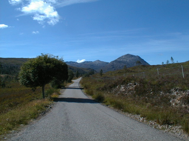 A896 Road to Torridon