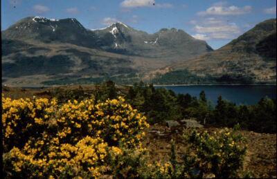 Across Loch Torridon to Ben Alligin