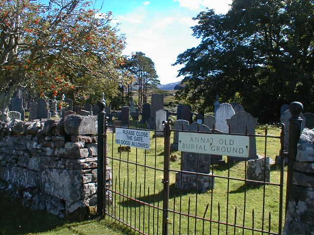 Annat Old Burial Ground