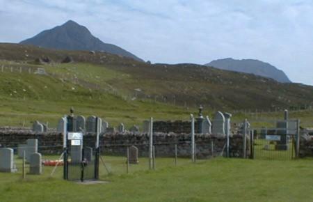 Burial ground at Badenscallie, Achiltibuie