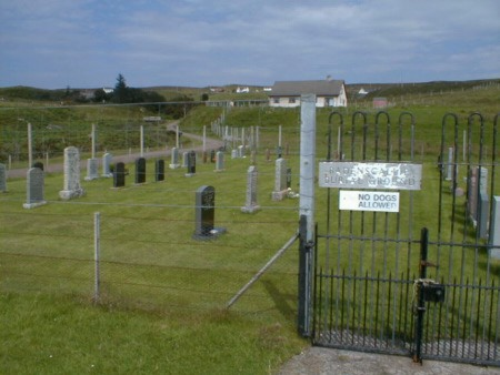Entrance to Burial ground