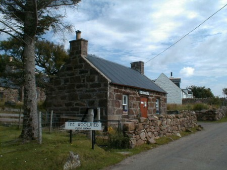 """""""The Woolshed"""" craft shop"""