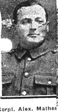 Matheson Alexander D,  Corp, Alness