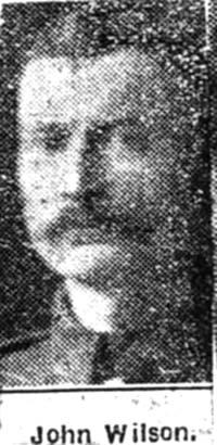 Wilson John, Alness