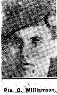 Williamson George, Pte, Alness