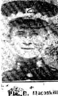 Macaskill Roderick, Pte, Alness