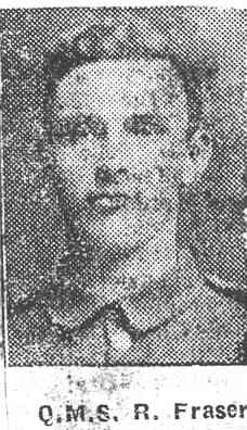 Fraser Roderick, QMS, Alness