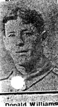 Williamson Donald, Sgt, Alness