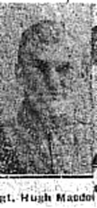 Macdonald Hugh, Sgt, Alness
