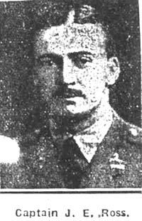 Ross J E (Ian), Capt, Egypt ex Ardross