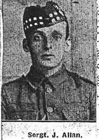 Allan James, Sgt, Easter Ardross