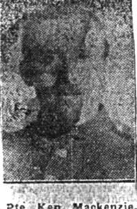 Mackenzie Kenneth, Pte, Aultbea