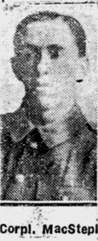 Macstephen William, Corp, Avoch
