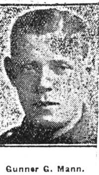 Mann G, Gunner, Avoch