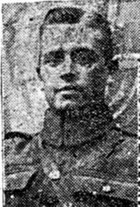 Dinwoodie John, Gunner, Avoch