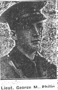 Philip George M, Lieut, Avoch