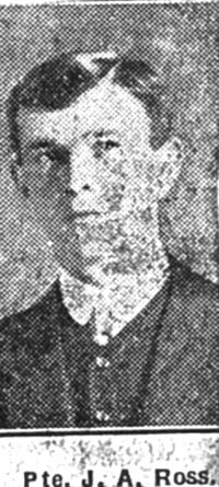 Ross J A, Pte, Avoch