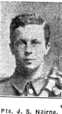 Nairne John S, Pte, Avoch