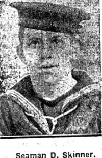 Skinner David, Seaman, Avoch