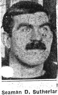 Sutherland David, Seaman, Avoch